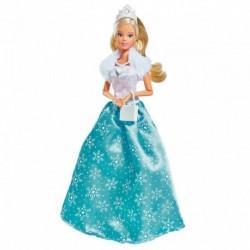 Šaty pre bábiku Steffi - ľadová princezná - Simba