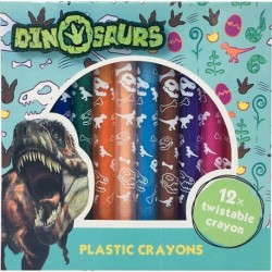 Skrutkovacie voskovky - s dinosaurom - Jiri Models