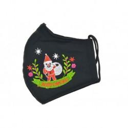 Rúško zo silnejšej textílie - Santa