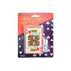 Hracie karty s kockami