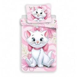 Obliečky z mikrovlákna - mačička Marie Pink 02 - 140 x 200 - Jerry Fabrics