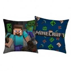 Vankúšik Minecraft Steve - 40 x 40 - polyester - Halantex
