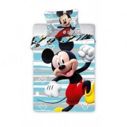 Bavlnené obliečky do postieľky - Mickey Happy - 100 x 135 - Faro