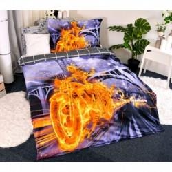 3D obliečky - Ghost Rider - 140 x 200 - polyester