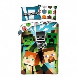 Bavlnené obliečky - Minecraft Alex a Steve - 140 x 200 - Halantex