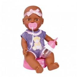 Bábika New Born Baby - černoška - 30 cm - Simba