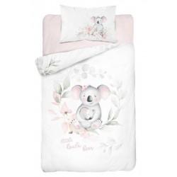 Bambusovo-bavlnené obliečky do postieľky - Koala Love - 100 x 135 - Detexpol
