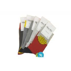 Pánske klasické ponožky FC6582 - 5 párov - Auravia