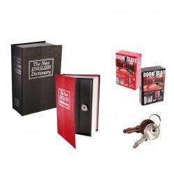 Mini trezor v dizajne knihy