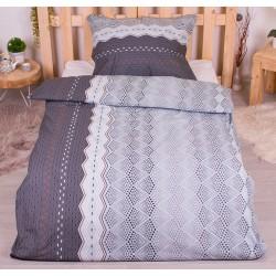 Bavlnené obliečky - 140 x 200 - Ekinoks sivá