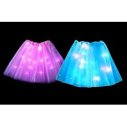Princeznovská sukňa s LED svetlom