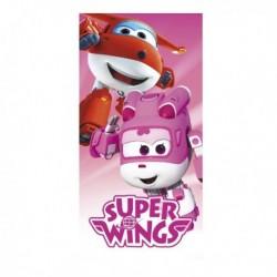 Osuška - Super Wings - ružová - 140 x 70 cm - Cerda