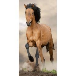 Osuška - Hnedý kôň - 140 x 70 cm - Jerry Fabrics