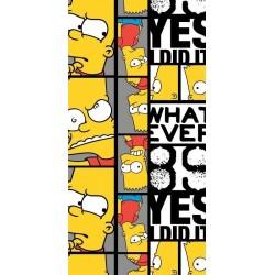 Osuška - Bart Simpson 89 - 140 x 70 cm - Jerry Fabrics