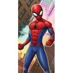 Osuška - Spiderman v meste - 140 x 70 cm - Faro