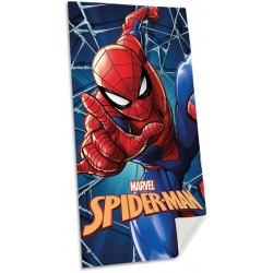Osuška - Spiderman - modrá - 140 x 70 cm - Euroswan