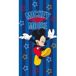 Osuška - Mickey Mouse - modrá - 140 x 70 cm - Faro
