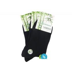 Pánske bambusové zdravotné ponožky Z-200C - 3 páry - Pesail