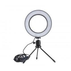 Prstencová LED lampa pre youtuberov a streamerov