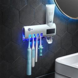 Solárny nástenný sterilizátor zubných kefiek