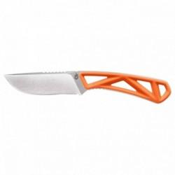 Nôž s pevnou čepeľou Exo-Mod - Drop point - hladké ostrie - oranžový - Gerber
