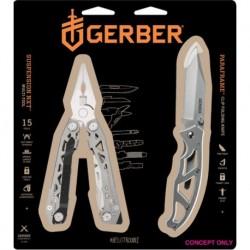 Súprava klieští Suspension-NXT + nôž Paraframe I. - blister - Gerber