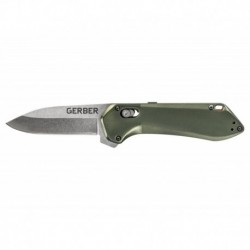Zatvárací nôž Highbrow Compact - Flat Sage - hladké ostrie - Gerber