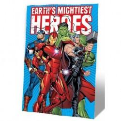 Flísová deka - Avengers - 150 x 100 cm - Euroswan