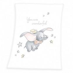 Detská flísová deka - Dumbo - 100 x 75 cm - Herding