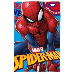 Detská flísová deka - Spiderman - 150 x 100 cm - Euroswan