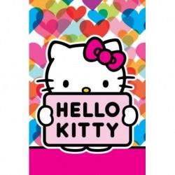 Detský uterák - Hello Kitty - 60 x 40 cm - Detexpol