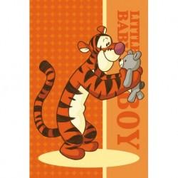 Detský uterák - Medvedík Pú - Tiger s plyšákom - 60 x 40 cm - Faro