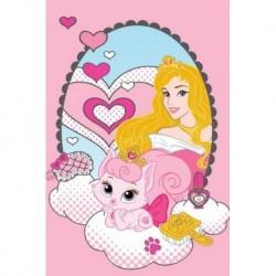 Detský uterák - Princezná s mačičkou Máriou - 60 x 40 cm - Detexpol