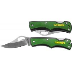 Vreckový nôž Small Lockback - zelený - Lansky