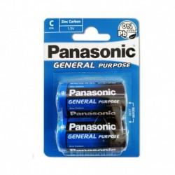 Batéria General Purpose R14BE/2BP - 1,5 V - 2x C batéria - balenie blister - Panasonic
