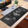 Podložka na pracovný stôl - mapa sveta - 40 x 90 cm