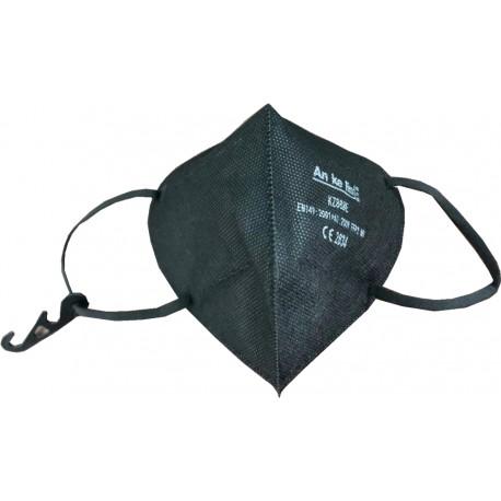 Respirátor FFP2 NR (CE) - 1 ks - čierny - An Ke Lin