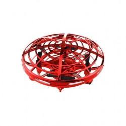 Lietajúci UFO dron - červený