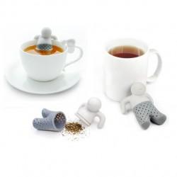 Praktický panáčik na prípravu sypaného čaju