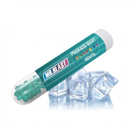 Praskacie guľky Mr. Blast - Mentol - 100 ks