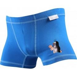 Chlapčenské boxerky KR 003 - modré - Boma