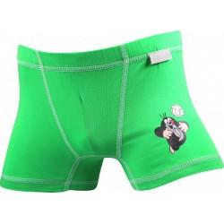 Chlapčenské boxerky KR 003 - zelené - Boma
