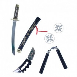 Ninja súprava zbraní - Rappa