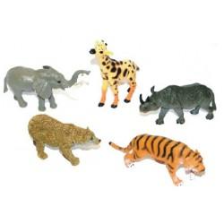Divoké zvieratá - 5 kusov - Rappa