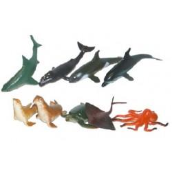 Morské zvieratá - 9 kusov - Rappa