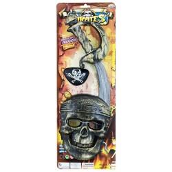 Pirátska súprava s maskou - Rappa