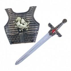 Rytiersky meč so štítom - Rappa