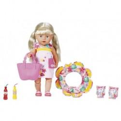 Plážová súprava pre bábiku Baby Born - 8 ks - Zapf Creations