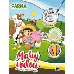 Vodové maľovanky - Farma - A4 - Jiri Models