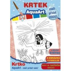 Maľovanky s motívom Krtka - stačí pridať vodu - Jiri Models